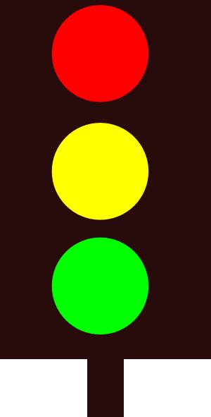 Showing post & media for Cartoon traffic light clip art.