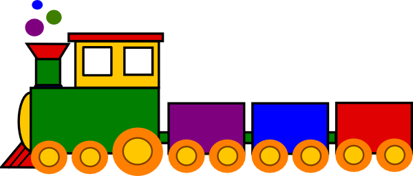 Cartoon Train.