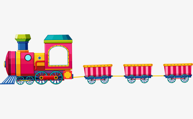 Download Free png Vector Toy Train, Toy Train, Train, Cartoon Train.