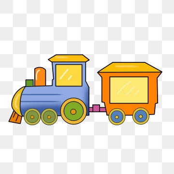Cartoon Train PNG Images.