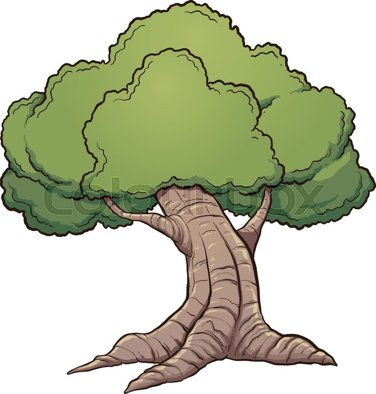 Tree Cartoon Image Clipart.