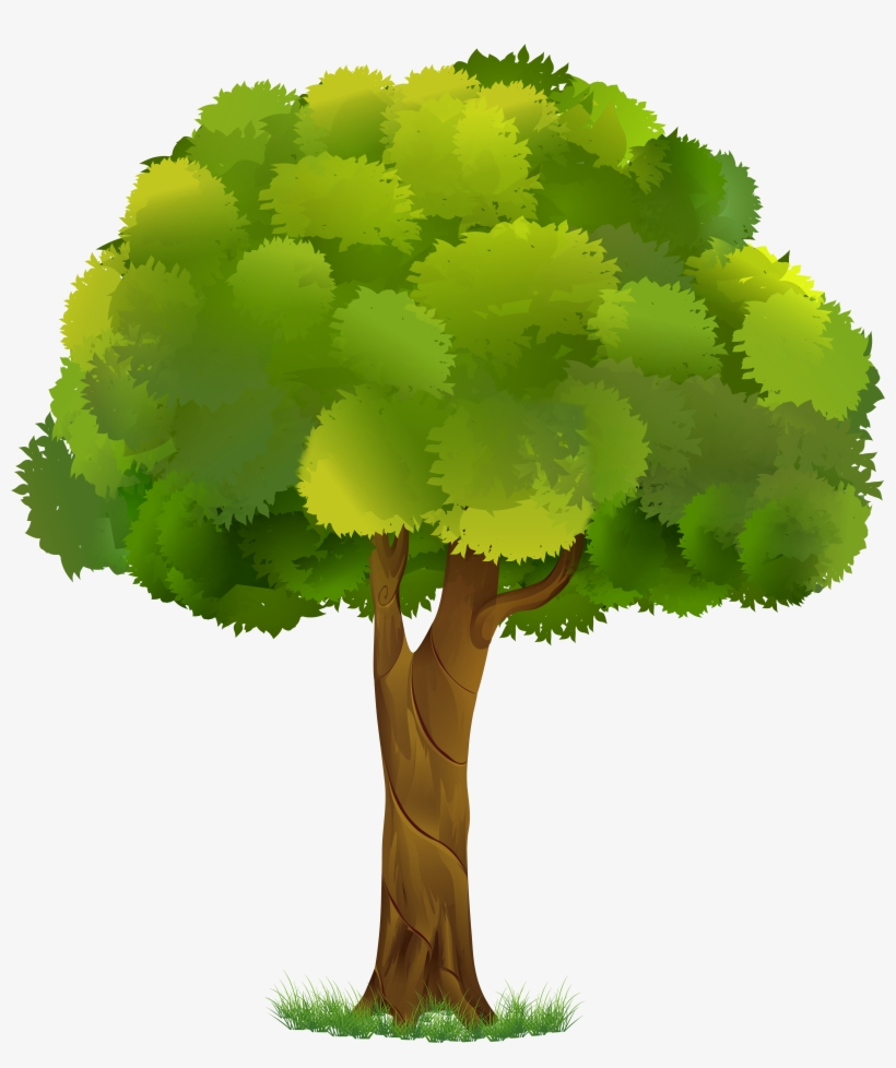 Tree Clipart Transparent Background 5 Of.