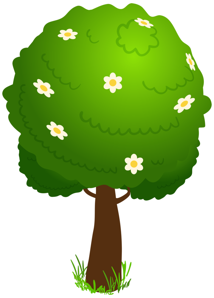 Cartoon Deco Tree PNG Clipart Kid.
