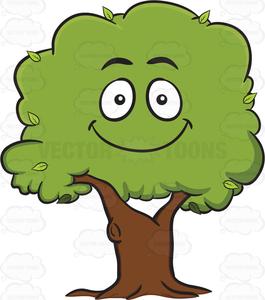 Free Clipart Cartoon Trees.