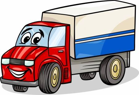 22,656 Cartoon Truck Stock Vector Illustration And Royalty Free.