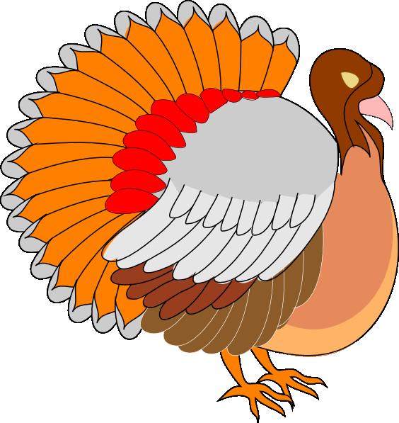 Free cartoon turkey vector royalty free.