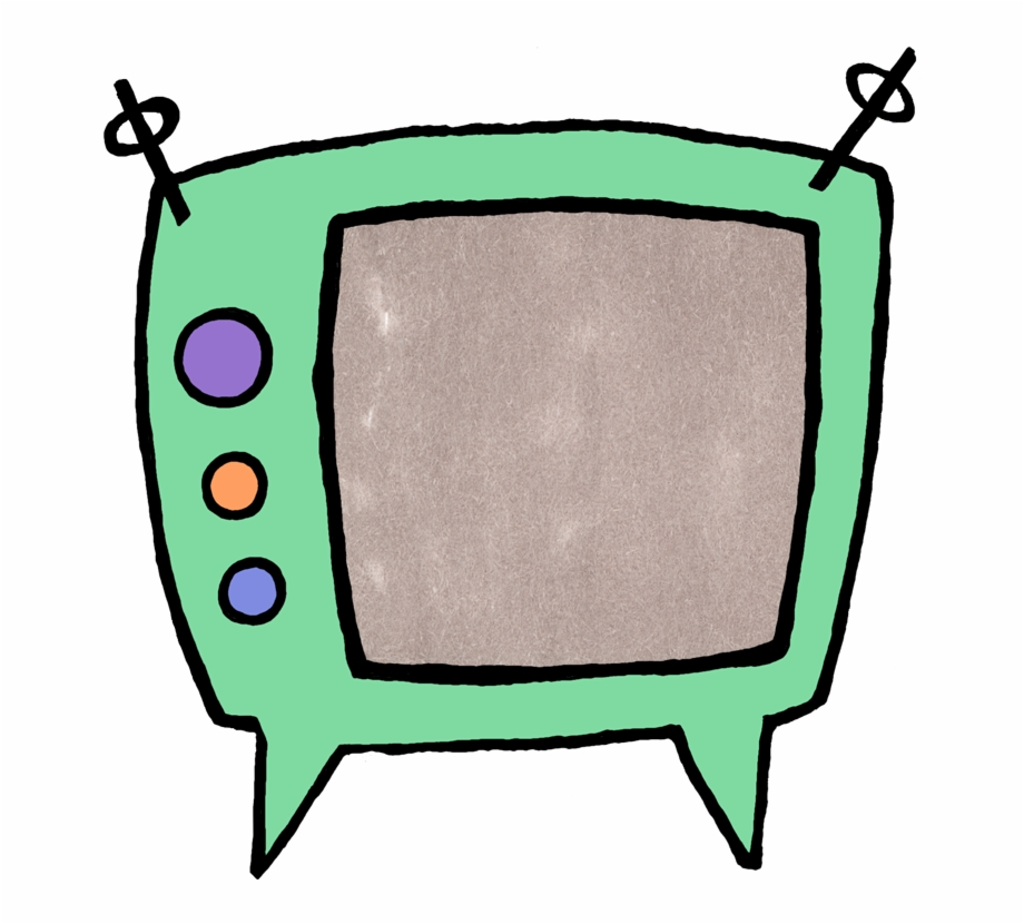 Cartoon Tv Png.