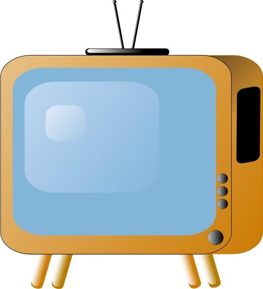 Cartoon tv clipart 1 » Clipart Station.