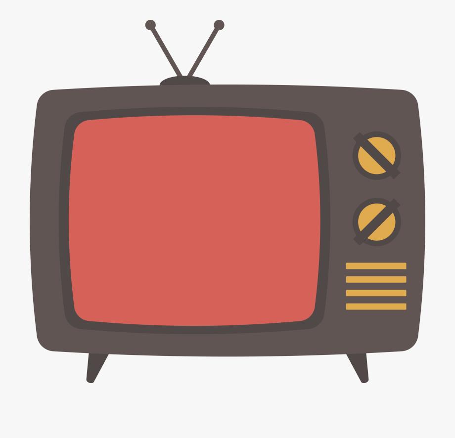 Image Transparent Stock Media Clipart Tv Set.