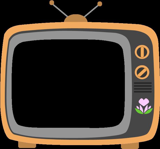 HD Vector Television Cartoon.