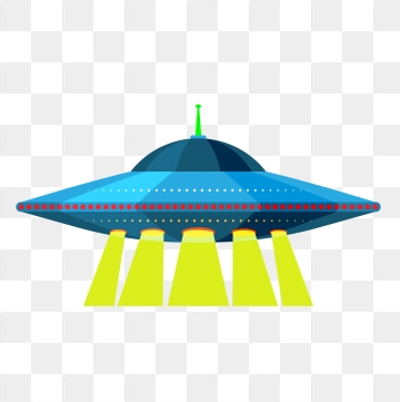 Ufo Cartoon PNG Images.