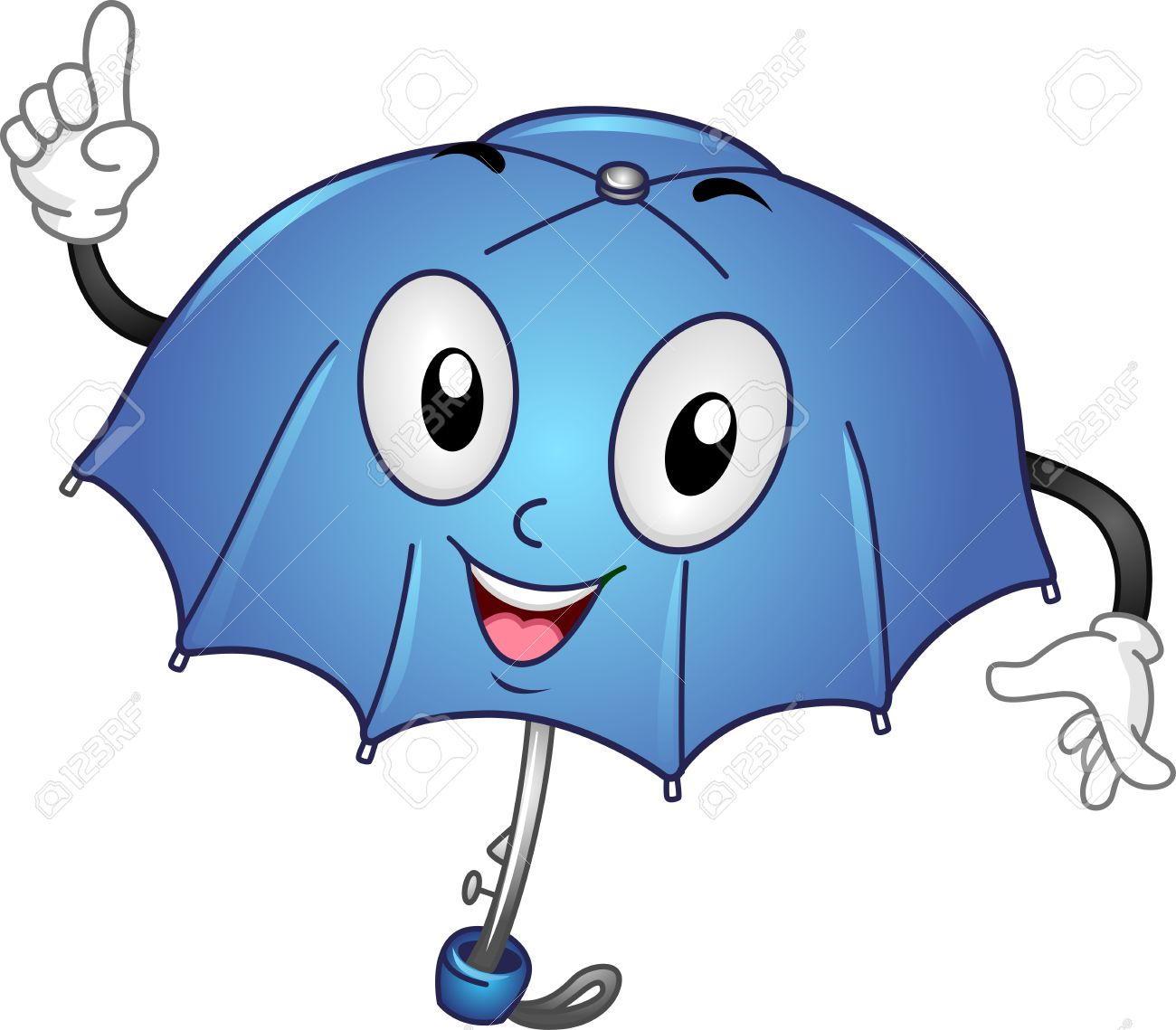 Cartoon Umbrella Clipart.