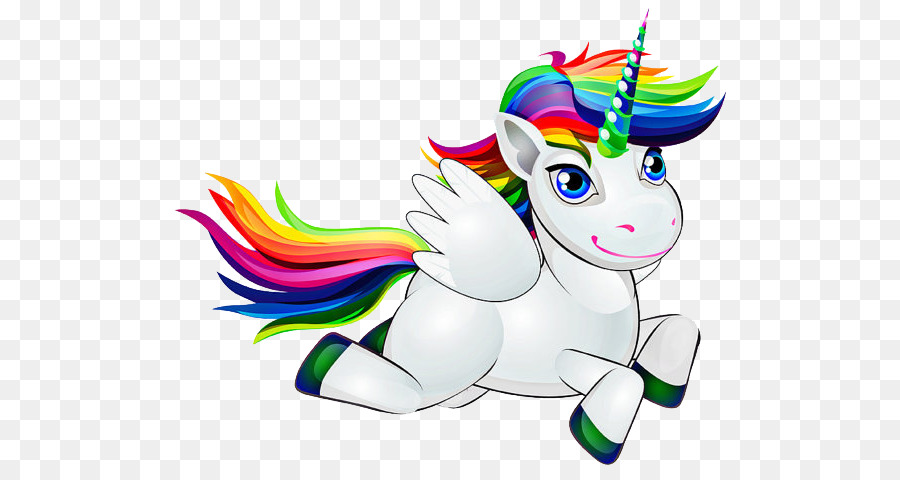 Unicorn Cartoon png download.