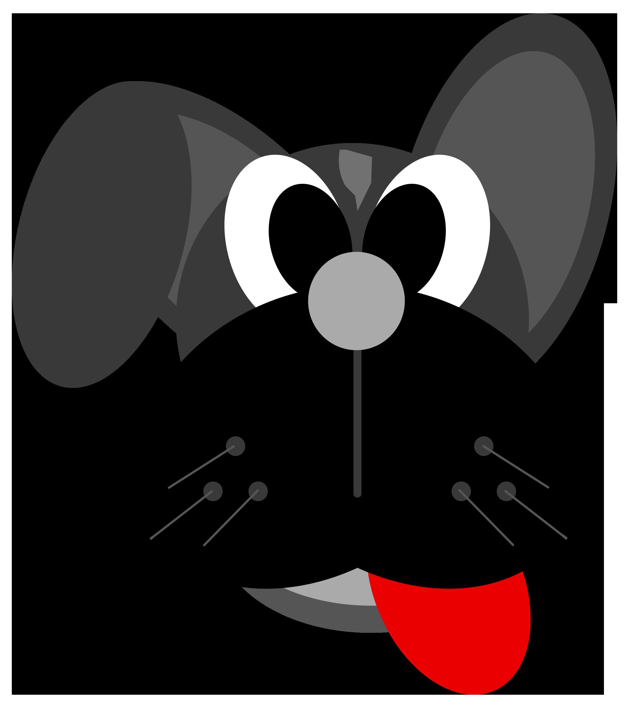 Dog Cartoon Vector Clipart image.