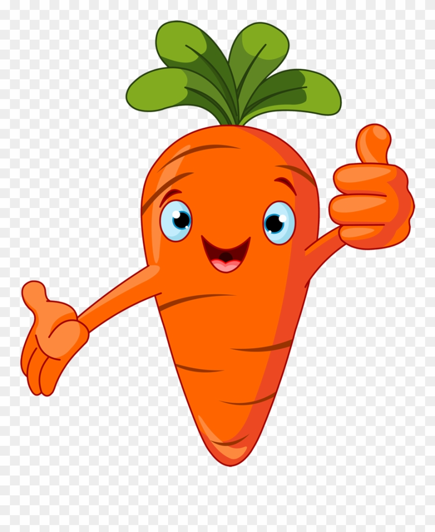 Scary Clipart Carrot.
