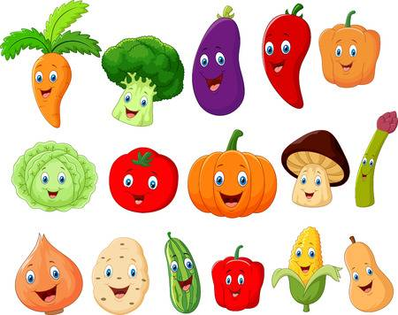 91,053 Vegetable Cartoon Cliparts, Stock Vector And Royalty Free.