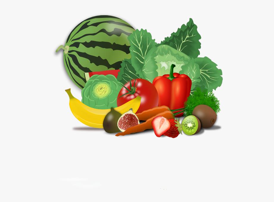 Healty Food Fruit Clip Art.