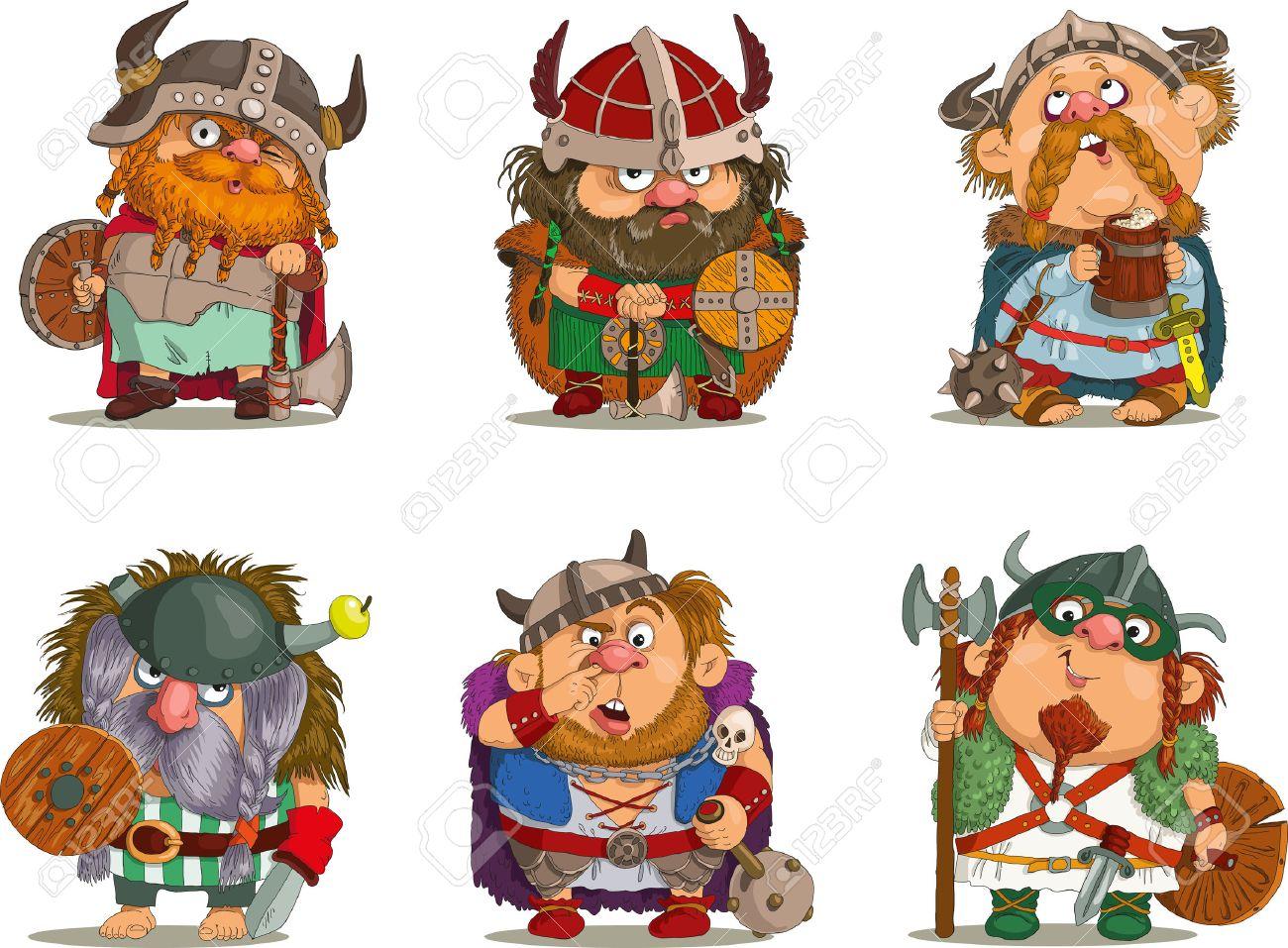 Cartoon vikings Funny cartoon..