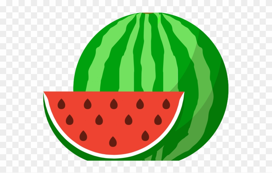 Watermelon Clipart Cucumber Melon.