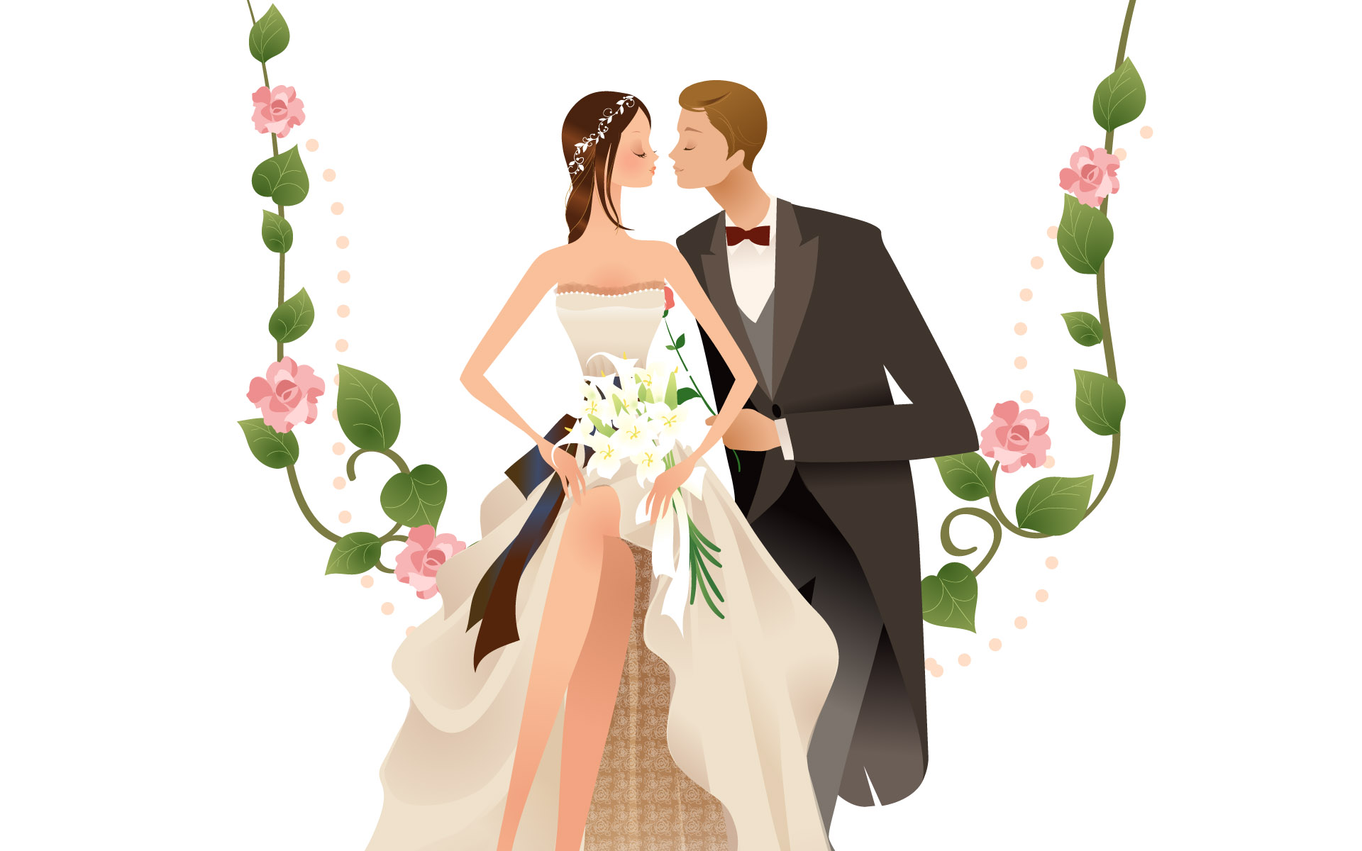 Free Wedding Couple Cartoon Images, Download Free Clip Art.