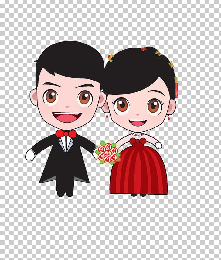 Bridegroom Marriage Cartoon Wedding PNG, Clipart, Black Hair, Bride.