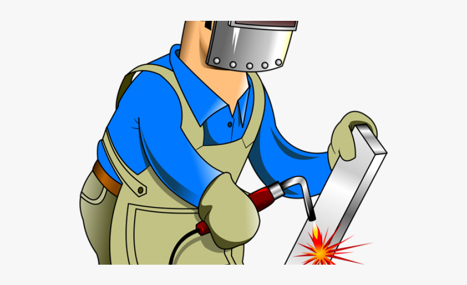 Welder Clipart Job Work.