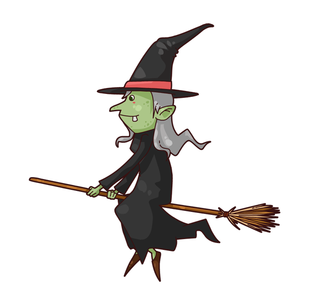 Pictures Of Cartoon Witches.