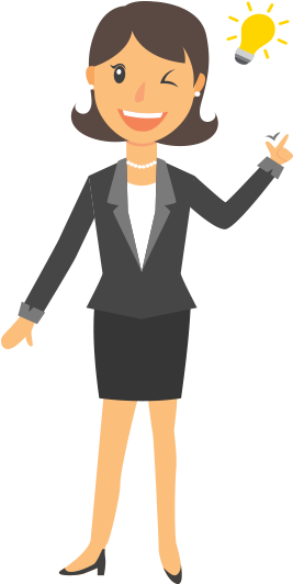 HD Business Women Png Image.