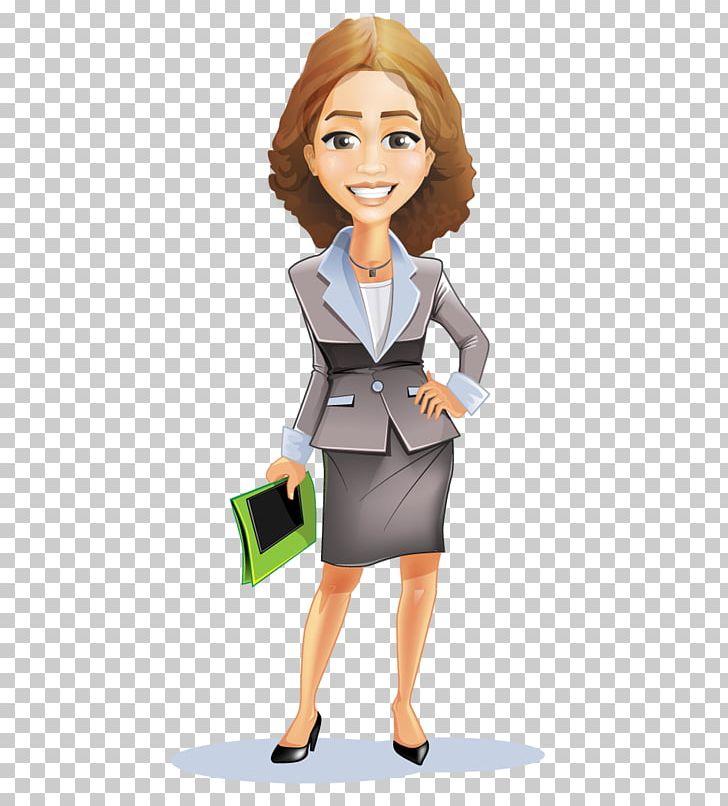 Businessperson Cartoon PNG, Clipart, Brown Hair, Business.