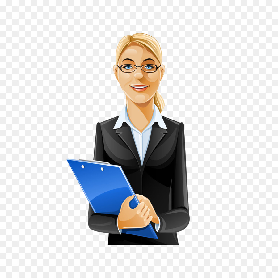 Cartoon Businessperson png download.