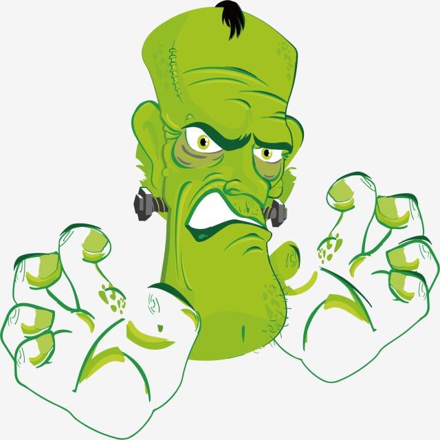 Download Free png Vector Cartoon Zombie, Zombie, Cartoon Zombie.