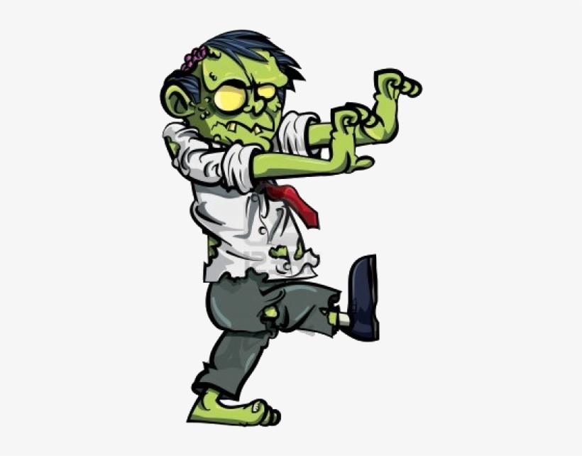 Scary Zombie Cartoon.
