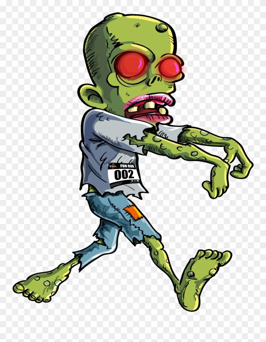 Kids Cartoon Zombie , Png Download Clipart (#3641167).