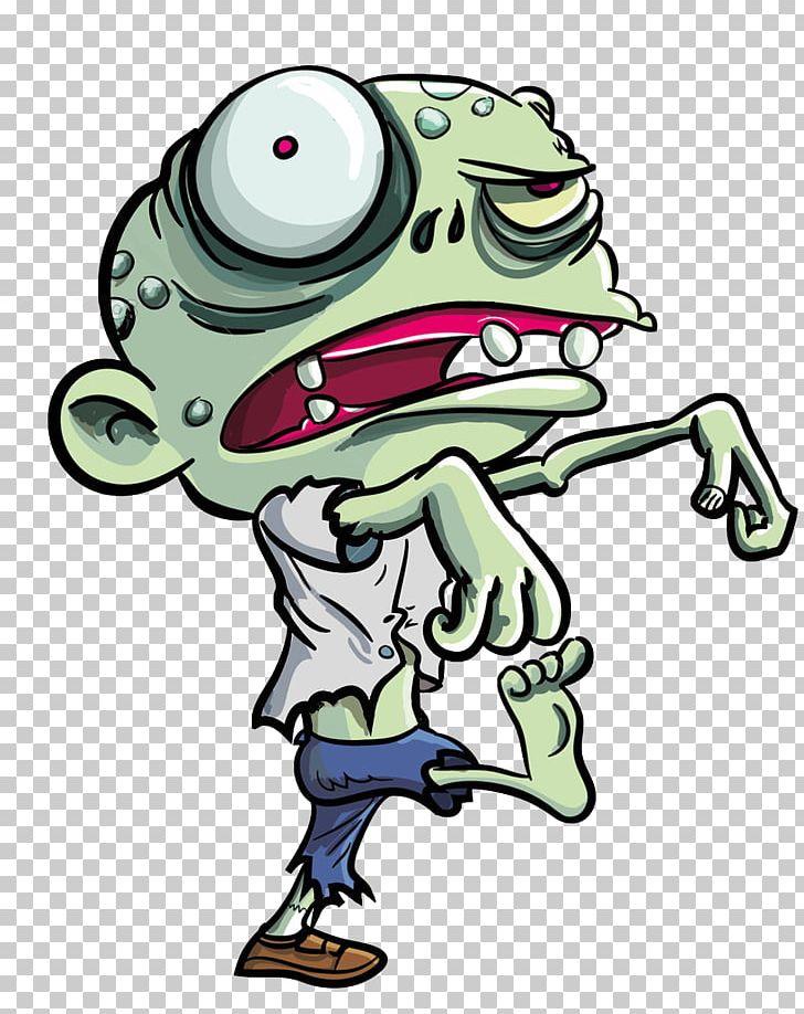 Zombie Cartoon PNG, Clipart, Amphibian, Animation, Art, Artwork.