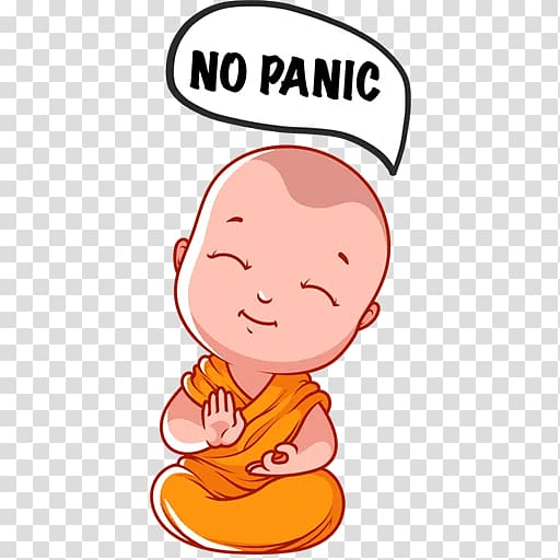 Cartoon Buddha transparent background PNG cliparts free.