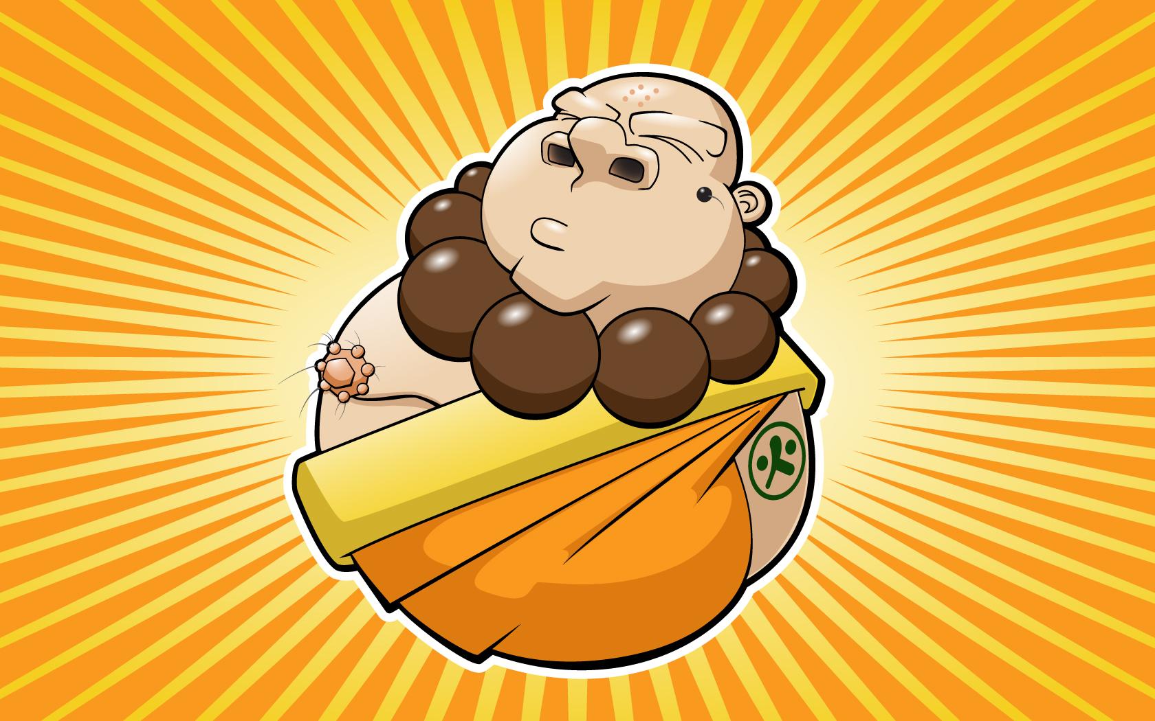 Free Cartoon Buddha, Download Free Clip Art, Free Clip Art.