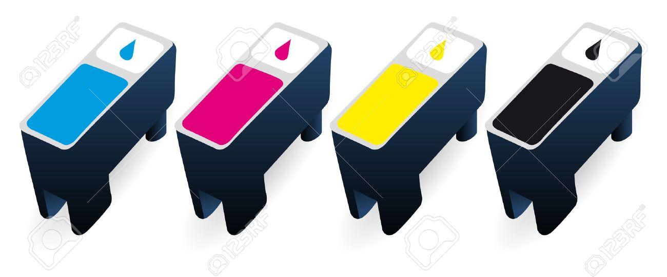 Ink cartridge clip art.
