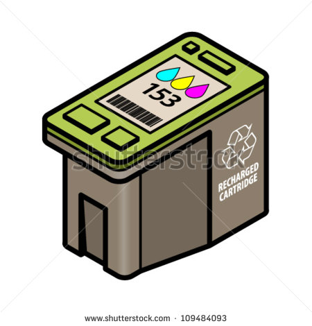 Printer ink clipart.