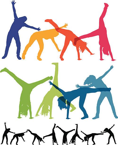 Top 60 Cartwheel Clip Art, Vector Graphics and Illustrations.