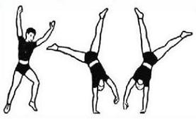 Free Cartwheel Clipart.