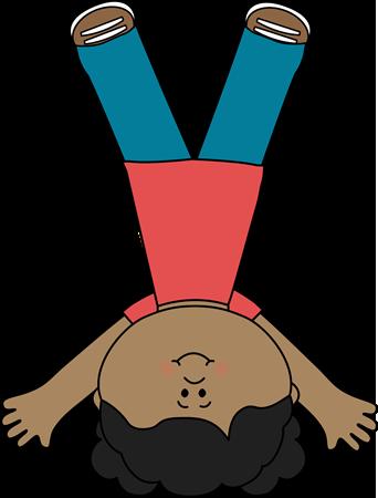 Cartwheel Clip Art.