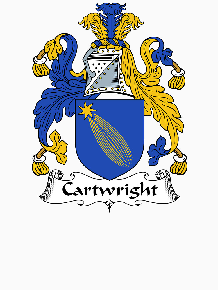 """Cartwright Coat of Arms / Cartwright Family Crest"""" Women's Relaxed."""