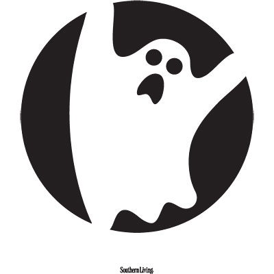 Printable Ghost Faces.