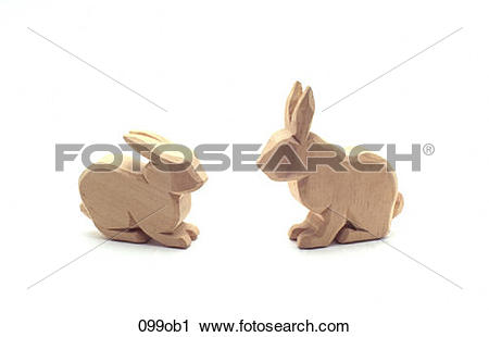 Stock Photography of CARVED, OBJECTS, DECORATIVE, CARVING, ANIMAL.