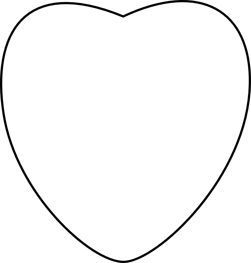 6353 Heart Clipart Black And White Heart Clipart Black And White.