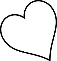 Heart Outline Clip Art.
