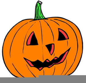 Carved Pumpkin Clipart.