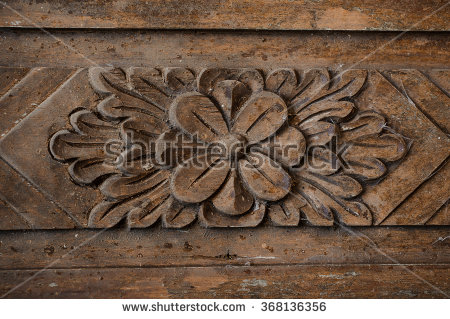 Carved Wood Stock Photos, Royalty.