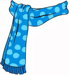 Scarf Clipart.