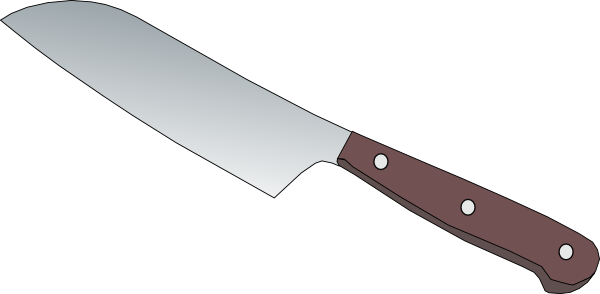 Carving Knife Clipart.